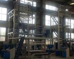 乳化炸药HDPE基材膜吹膜机