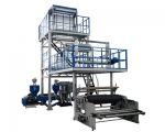 Three-layer Co-extrusion Blowing Film Machine (die-head rotating)